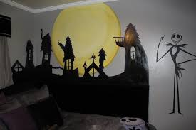 delightful decoration nightmare before wall decor decals