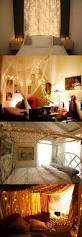 Diy Canopy Bed With Lights I Am Obessed With Lights I Would Die If These Were In My Room