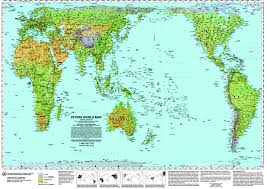 Show World Map by Maps World Map Pacific