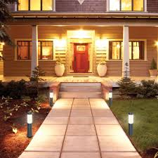 Costco Outdoor Solar Lights by Led Solar Bollard Lights Lighting Artika