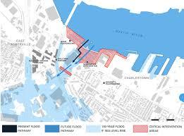 Map Of Boston Area Climate Ready Charlestown Boston Gov