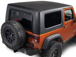 jeep wrangler 2 door hardtop black rally tops wrangler 1 piece hardtop black jk2dr 07 18 wrangler jk