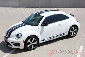 2012 2016 Volkswagen Beetle Rally Bumper To Bumper Racing Stripes