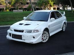 mitsubishi evo gsr custom frp fiber glass extreme front lip splitter spoiler for lancer
