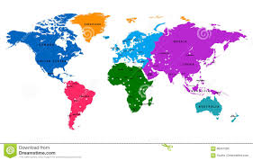 Free Vector World Map by Vector World Map With Country And Capital Stock Vector Image