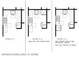 kitchen layout templates 6 different designs allstateloghomes