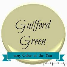 2015 color of the year guilford green postcards from the ridge