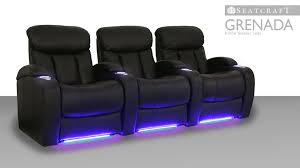 home theater risers seatcraft grenada home theater seating youtube
