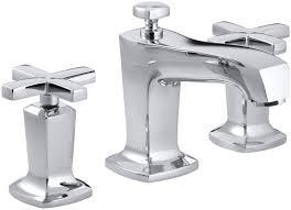 Bathroom Sink Handles Kohler Margaux Widespread Bathroom Sink Faucet With Cross Handles