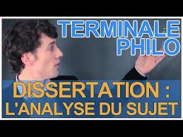 Dissertation   l     analyse du sujet   Philosophie   Terminale   Les     Dissertation   l     analyse du sujet   Philosophie   Terminale   Les Bons Profs
