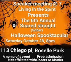 spirit halloween nj northern new jersey aa group events u0026 notices