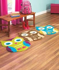Owl Kitchen Rugs Soft Owl Shaped Rug Bedroom Bathroom Playroom Choose From 3