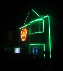Halloween House Light Show by Jumble And Jelly Lately