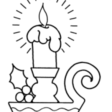 candle light coloring page kids drawing and coloring pages