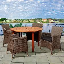 7pc Patio Dining Set - round mosaic dining set seats 6 patio dining sets at hayneedle