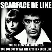 Scarface Meme - scarface quotes meme selfie instapic mac makeup ba flickr