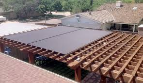 for patio shades pergola covers or retractable awnings call beat