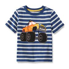 wonderkids infant u0026 toddler boy u0027s shirt monster truck