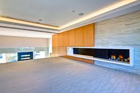 decorated with contemporary fireplaces aio contemporary styles