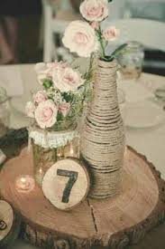 wood log vases best 25 wood slab centerpiece ideas on rustic