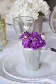 Pretty Tables by Style Your Place Settings With Flowers Decor Gold Designs