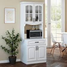 large white kitchen storage cabinet white food pantries free shipping 35 wayfair