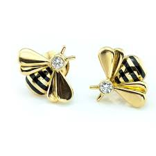 pictures of gold earrings cartier bumble bee gold earrings nyshowplace
