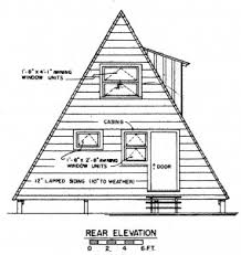 small a frame house plans house plan free a frame house plan with deck cabin loversiq