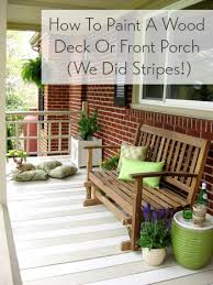 best deck color to hide dirt how to paint a wood deck or front porch we did subtle