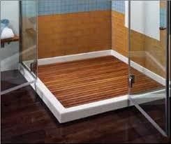 Best  Shower Floor Ideas Only On Pinterest Master Shower - Hardwood flooring in bathroom
