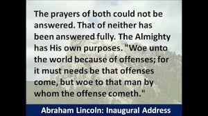 president abraham lincoln second inaugural address hear and read
