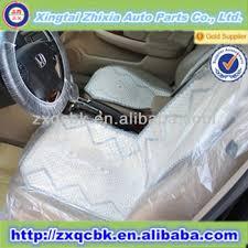 housse plastique siege auto siège plastique transparent couvre pour les voitures jetable en