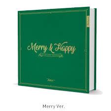 pre order merry happy happy ver kmall24