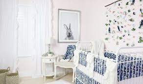 bunny nursery emery s soft blush blue bunny nursery caden
