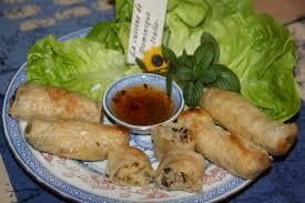 cuisine chinoise nems nems crevettes et crabe recette vietnamienne la cuisine de