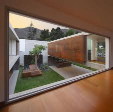 home design awesome courtyard view from second floor area with