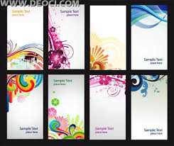 free 8 colorful vector x banner background illustration design