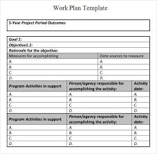 work plan template hitecauto us