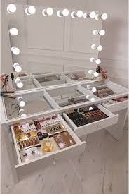 Glass Vanity Table With Mirror Must See Glass Top White Makeup Vanity Table Mirror Dressing Ikea