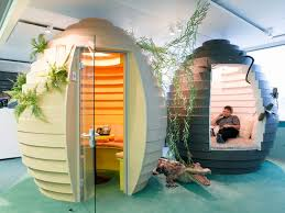 Google Pod by Google Hub Zurich Google Office Architecture Technology