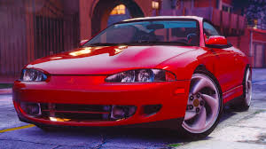 mitsubishi eclipse coupe mitsubishi eclipse gsx add on gta5 mods com
