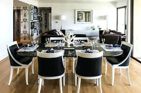 black and white dining room ideas dining room modern dining sets in black and white theme with modern