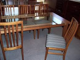 Dining Tables  Chairs - Glass top dining table adelaide