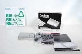 Cardscan Personal Business Card Scanner V9 Cardscan Personal 60 Ii Contact Business Card Scanner U2022 19 99