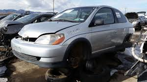 junkyard find 2000 toyota echo the truth about cars