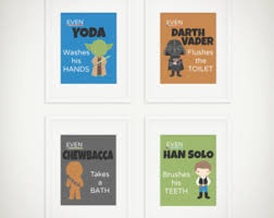 Star Wars Bathroom Accessories Space Bathroom Etsy