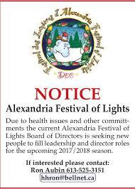 alexandria festival of lights alexandria light festival