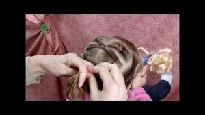 twist link hairstyle for gymnastics and girls youtube