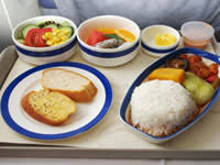 diabetic lunch meals airline food and diabetes
