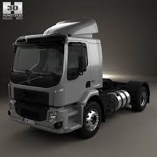 volvo truck tractor volvo vm 330 tractor truck 3 axle 2014 3d model hum3d